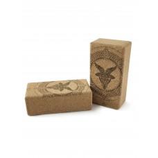 Кирпич для йоги пробковый Capricorn Zodiac Collection