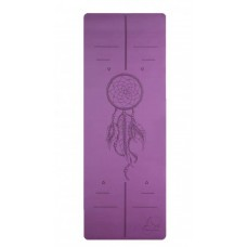 Коврик для йоги из каучука Amulet Yoga ID 4,5 мм