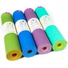 Коврик для йоги двухслойный Fruits Devi Yoga