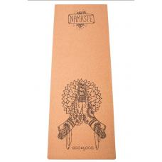 Коврик для йоги Namaste EGOyoga с пробковым покрытием