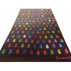 Печать на коврике для йоги