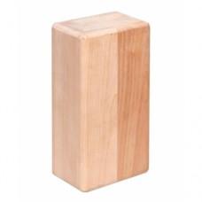 Кирпич для йоги деревянный шлифованный